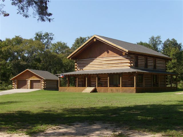 They Build Them Big Texas Log Home Builders Association