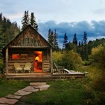 Thirteen Tiny Dream Log Cabins And Floating Home