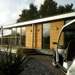 This Distinctive Modern Dwelling Small Modular Home Manufactured