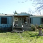 This Manufactured Home Located Next The Main House
