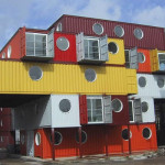 This One Comes From Container City The Portholes Are Really
