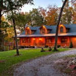 This Square Foot Custom Log Home From Gastineau Homes