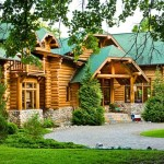Thompson Exterior See More Rocky Mountain Log Homes Rustic