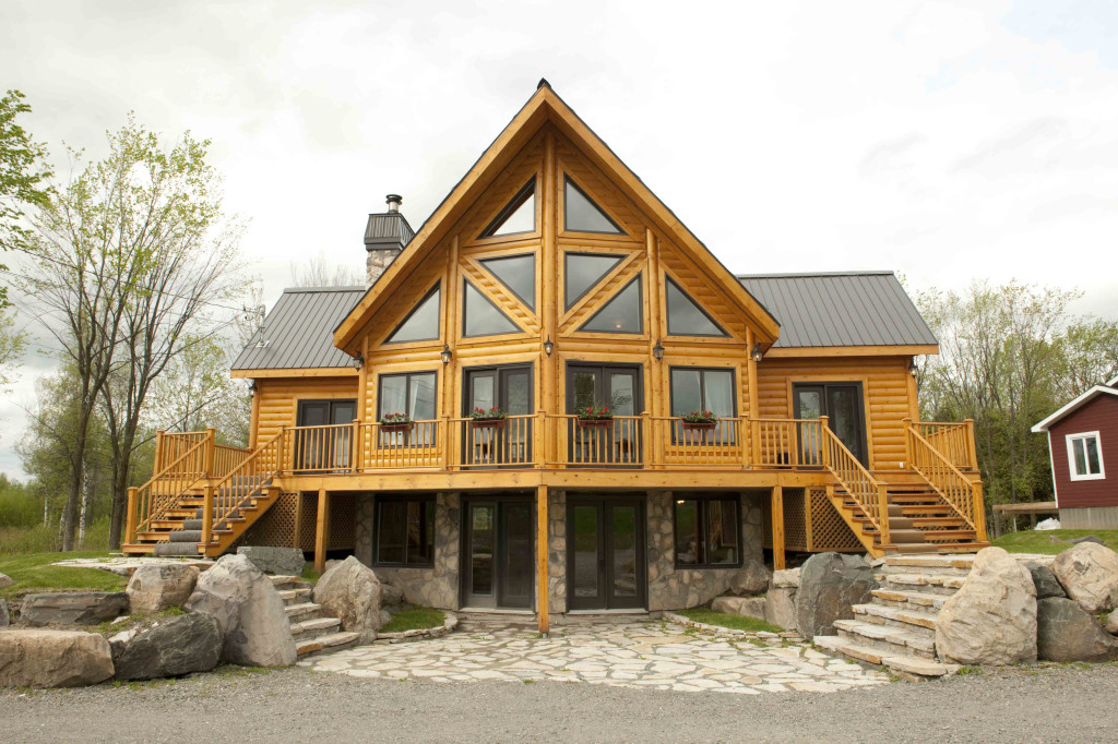 Timber Block Insulated Log Homes And Home Show