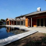 Timber Frame House Green Architecture New American Home