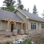 Timber Frame Pembroke Ontario Canada Kealey Tackaberry Log