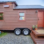 Tiny Tack Home Exterior Mobile House Entirely Built