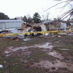 Tornado Damage Fraley Lane East Statesville November