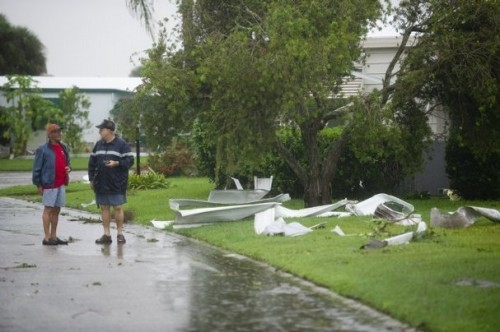 Tornado Hits Countryside Mobile Home Park Vero Beach Treasure