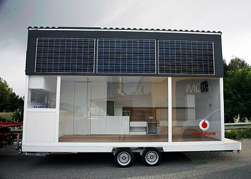 Trailer Home From Waskman Design Studio Vodafone
