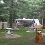 Trailer Park Campground Coboconk Ontario Estates Canada