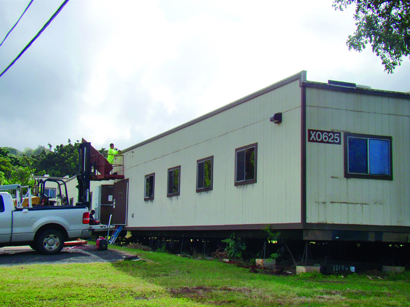 Trailers Get New Home Community College Campuses Hawaii Army