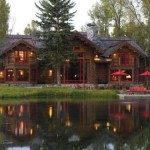 Tranquil Wyoming Log Home