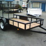 Tru Trailers Utility Flatbed Trailer For Sale