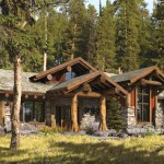 Truckee Log Home Floor Plan