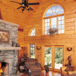 True North Log Homes Unveils New Wall System That Doesn Leak Air