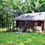 Two Bedroom Bath Square Foot Lakefront Log Home Stands