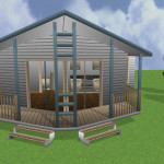Two Bedroom Weekender Kit Home Design Modular Homes Australia