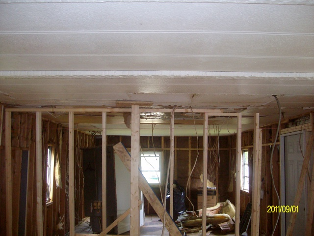 Unexpected Truss Repair Mobile Home Renovation