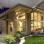 Unfolding Creatively Green Home