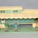 Unknown Vintage Plastic Mobile Home House Trailer Windows Doors