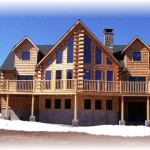 Valcour Deluxe Cedar Knoll Log Homes Plans Kits And