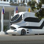 Various Purposes Mobile Home Vip Shuttle And Promotion Vehicle