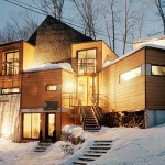 Victoria House Built From Eight Containers Gliving Night