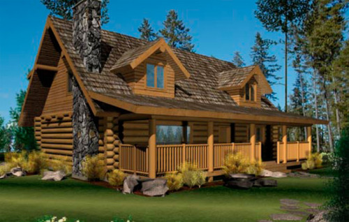 View All Log And Timber Floor Plans Caribou Creek
