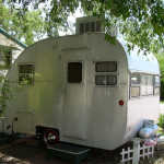 Vintage Homemade Travel Trailer The Shady Dell Flickr