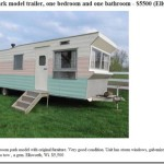 Vintage Time Capsule Rollohome Mobile Home Trailer For Sale