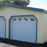 Vinyl Prefab Car Garages Prefabricated Two Virginia