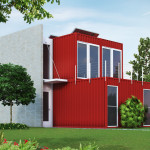 Visualization User Community Exterior Shipping Container Home