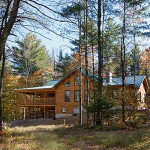 Ward Cedar Log Homes Custom Home