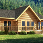 Wateree Iii Log Home Cabin Plans Southland Homes