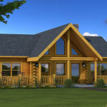 Wateree Log Home Cabin Plans Southland Homes