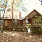 Waterfront Log Home Jefferson Texas