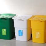 Weatherproof Recycling Kit Litre Colour Coded Home