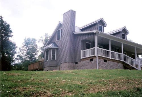 West Virginia Home Building Remodeling Contractor Siding Room