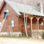 What Best Oil Base Latex Stains The Log Home Neighborhood