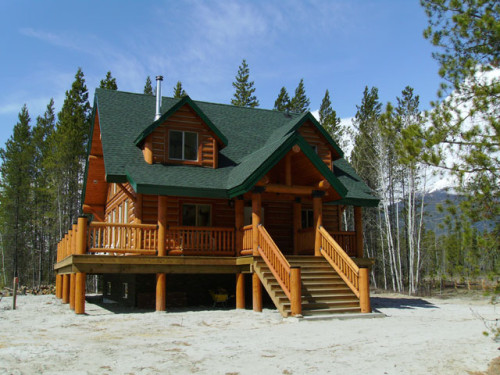 Whisper Creek Log Homes Valemount Prince George Kamloops Williams