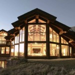 Wholesale Log Home Dream House