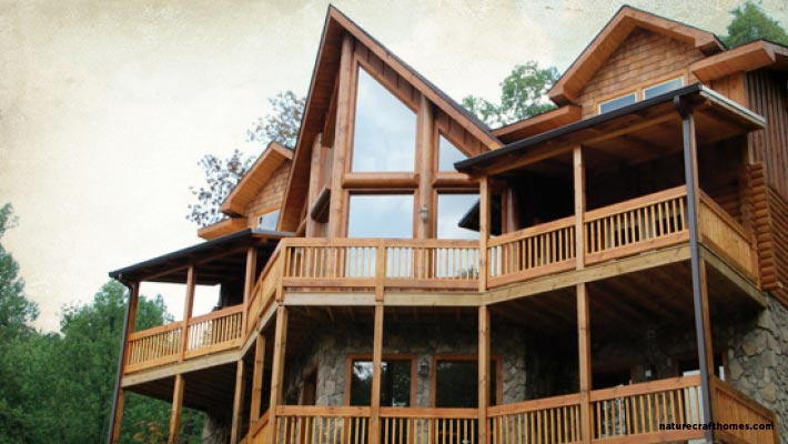 Wholesale Log Homes Panther Creek Home Naturecraft