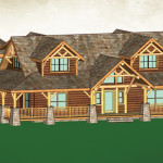 Wholesale Log Homes Sequoia Home Naturecraft