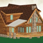 Wholesale Log Homes Sierra Point Home Naturecraft