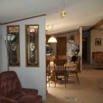 Wide Mobile Homes Interior Living Cavco Manufactured Home