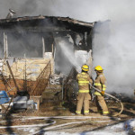 Williams Township Mobile Home Fire Leaves Couple Homeless