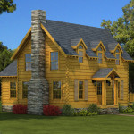 Williamsburg Log Home Cabin Plans Southland Homes
