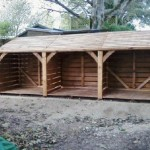 Wood Stores High Quality Log Delivered Fully Constructed