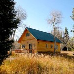 Yellowstone Country Cabin The Aspen House Log
